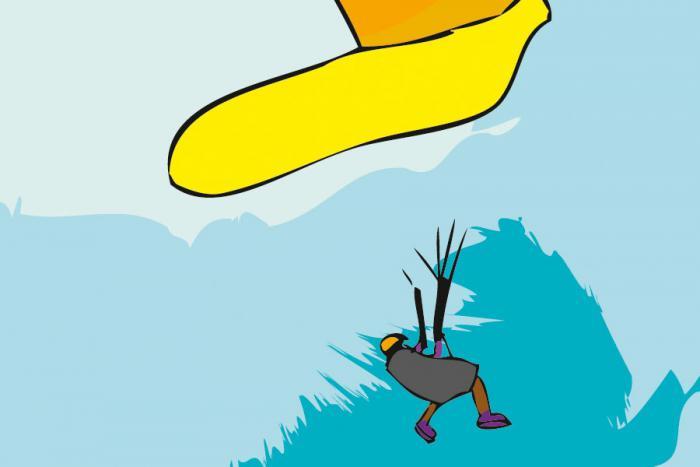 Illustration pour carte du jeu ParaPion - asymétrique