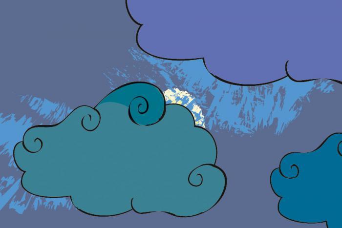 Illustration pour carte du jeu ParaPion - soleil voilé