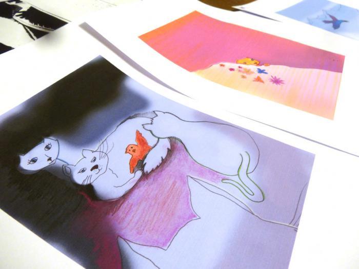 illustration en cours pour le recueil des Contes du Froid