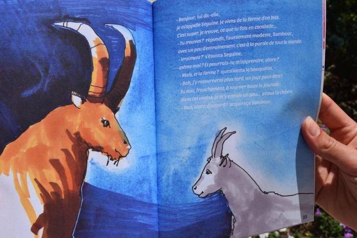 Illustration représentant Sambouc et Seguine.