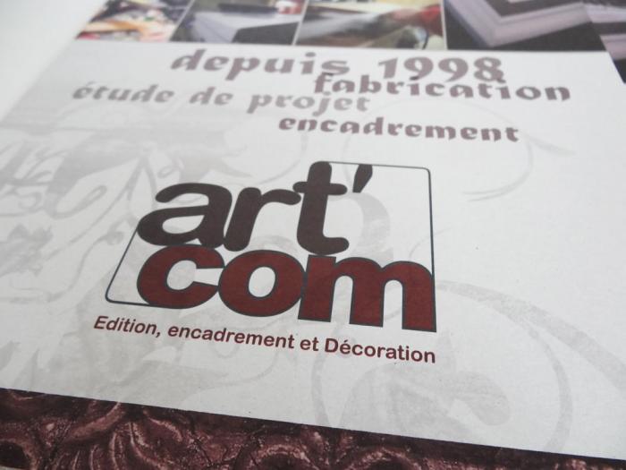 plaquette d'entreprise - artcom bourg st maurice 01