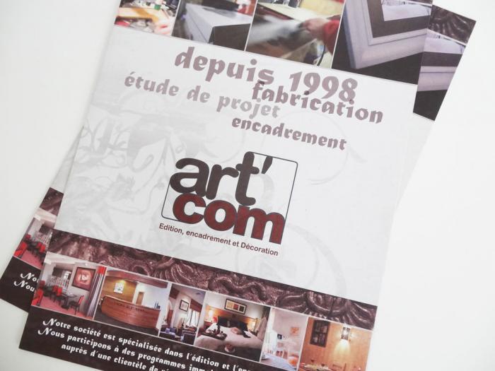 plaquette d'entreprise - artcom bourg st maurice 02