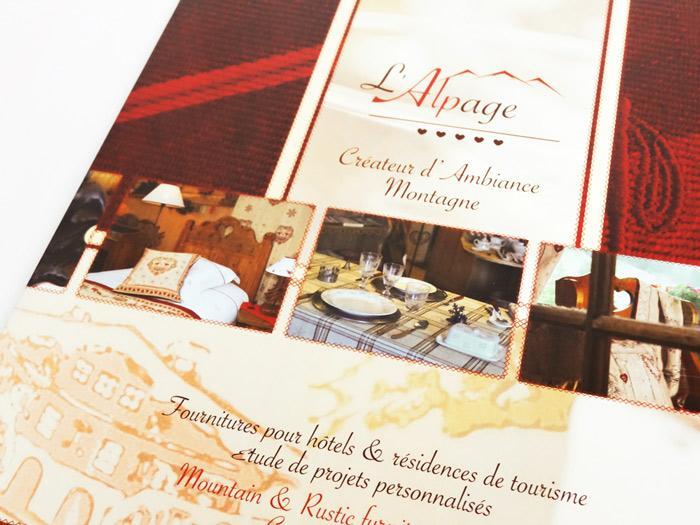 brochure l'Alpage à Annecy - couv
