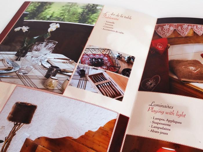 brochure l'Alpage à Annecy - intérieur