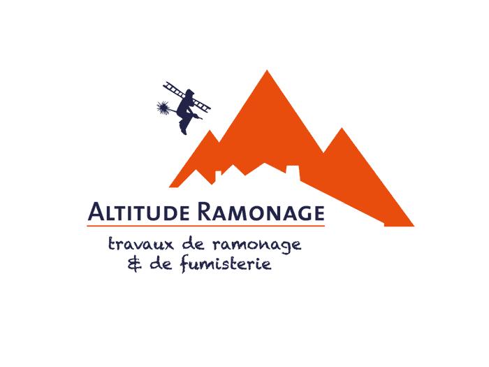 création de logo - altitude ramonage savoie