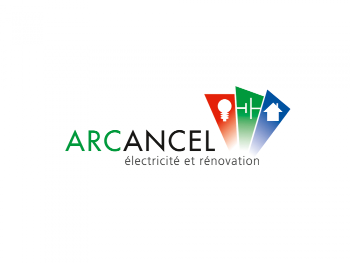 logo arcancel électricité rénovation bourg st maurice les arcs