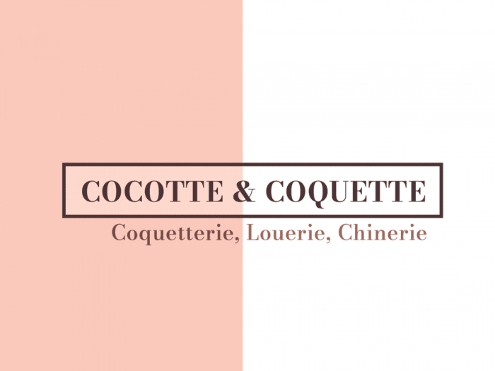 logo pour Cocotte & Coquette - texte seul