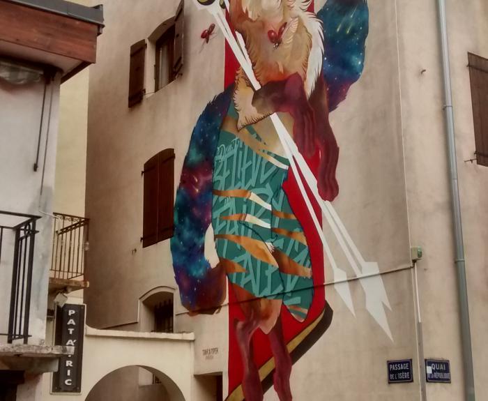 graff à Moûtiers Savoie