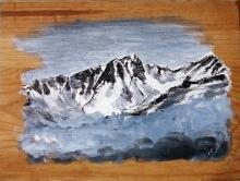 tableau du Roignais, aperçu depuis les Granges en Tarentaise - Julie Loomis