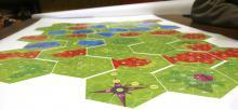 Bon à Tirer des hexagones de terrain de Parapion