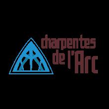 logo Charpentes de l'Arc format signature, by Jugraphics.com
