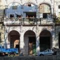 Graphisme dans la rue - façade cubaine.